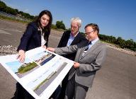 Public services hub site visit