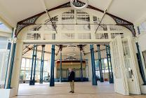 Councillor Kemp in the Octagon Hall