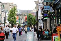 Buxton town centre - credit Derby and Derbyshire Economic Partnership and Derbyshire County Council