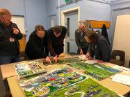 Whitfield residents view the proposals